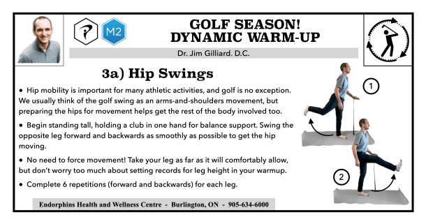 Hip Swing Golf Warm-up