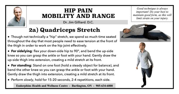 Quadriceps Stretch Hip Mobility