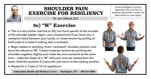 Shoulder Exercise W
