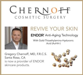 endor anti-aging skincare from chernoff cosmetic surgery
