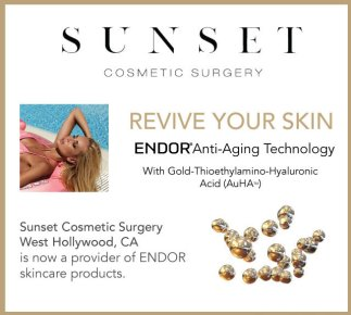 endor anti-aging skincare from sunset cosmetic surgery