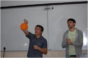Несколько опытов с шариками