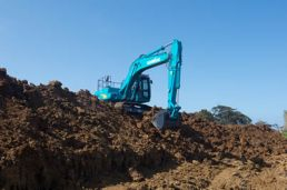 Stable excavator