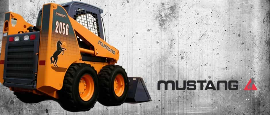 Mustang skid steer loader
