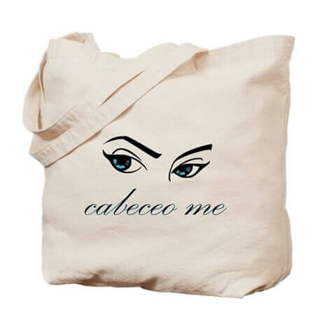 cabeceo_blue_tote_bag