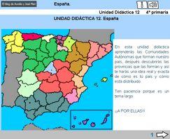 Unidad didáctica de España