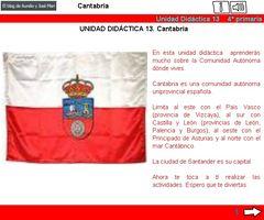 Unidad didáctica de Cantabria