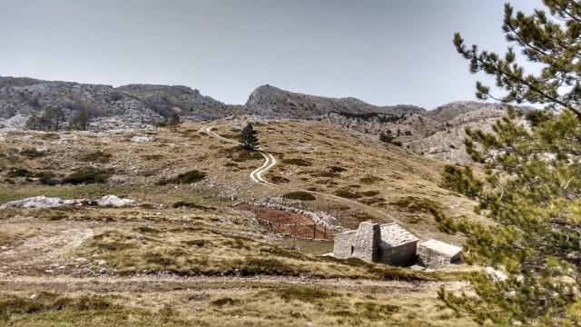 Shepherd hut on the high plateau