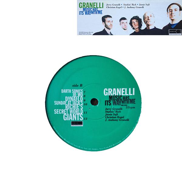 Jerry Granelli - Buck65 - Cover