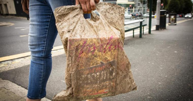 Your so called biodegradable plastic bag might not actually biodegrade