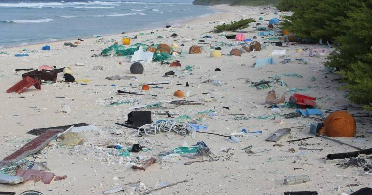 Researchers discover an alarming amount of buried plastic