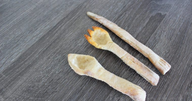 How to make edible utensils that you can eat after you use