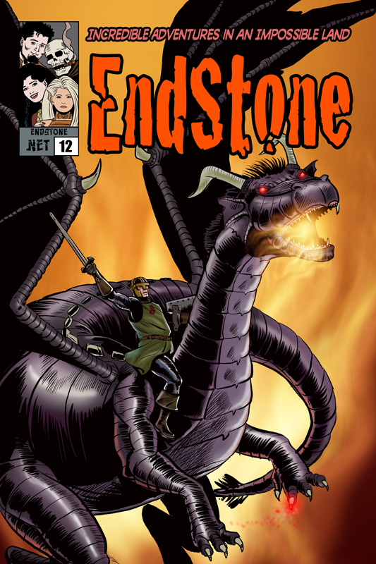 Endstone Issue 12 Cover
