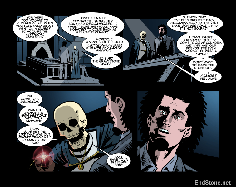 13.40 Endstone Fantasy Comic
