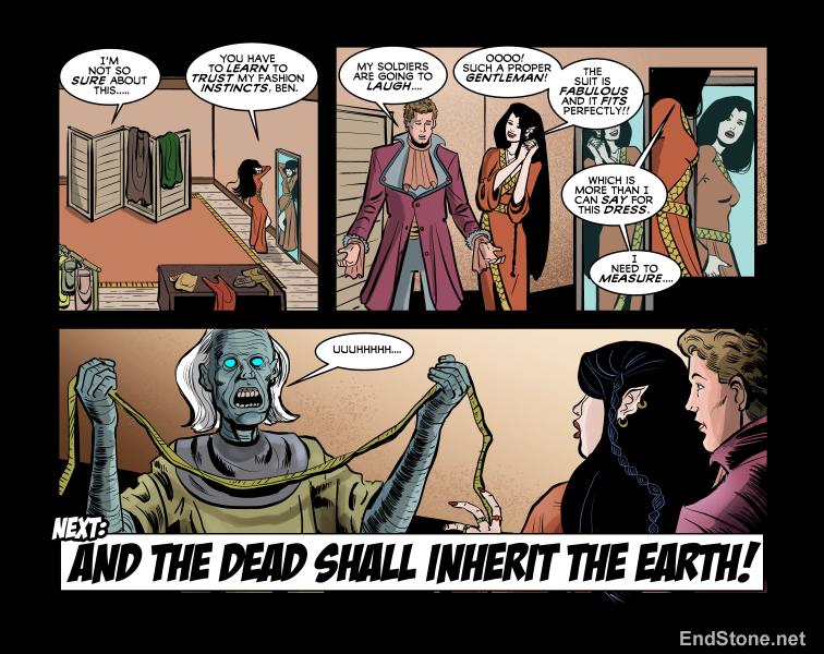 13.47 Endstone Fantasy Comic Book