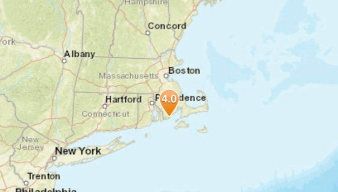 Magnitude 4.0 Earthquake Rattles Bliss Corner, Massachusetts