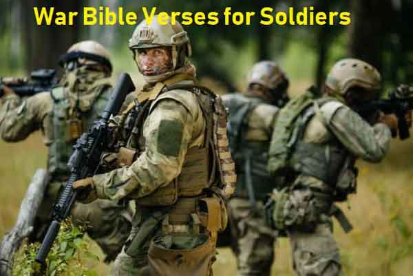 War Bible Verses for Soldiers