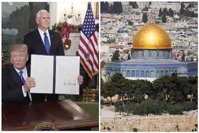 when, why and who Declares Jerusalem as the capital of Israel?