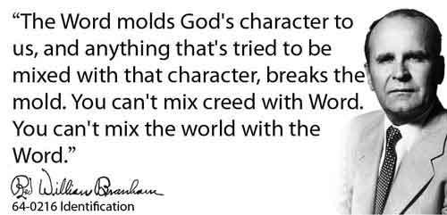 William Branham Sermon - Identification