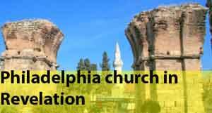 Philadelphia church in Revelation