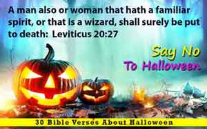 30 Bible Verses About Halloween