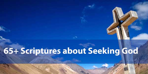 scriptures about seeking God