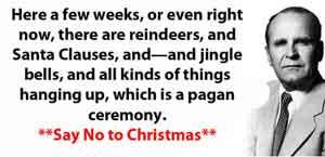 William Branham Sermon about Christmas