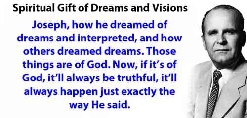 Spiritual Gift of Dreams and Visions