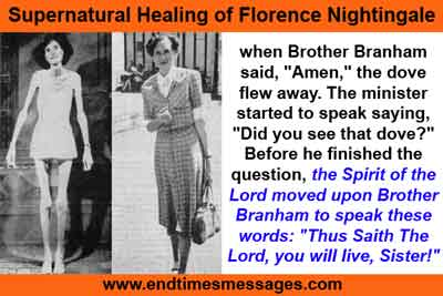 Supernatural Healing of Florence Nightingale.