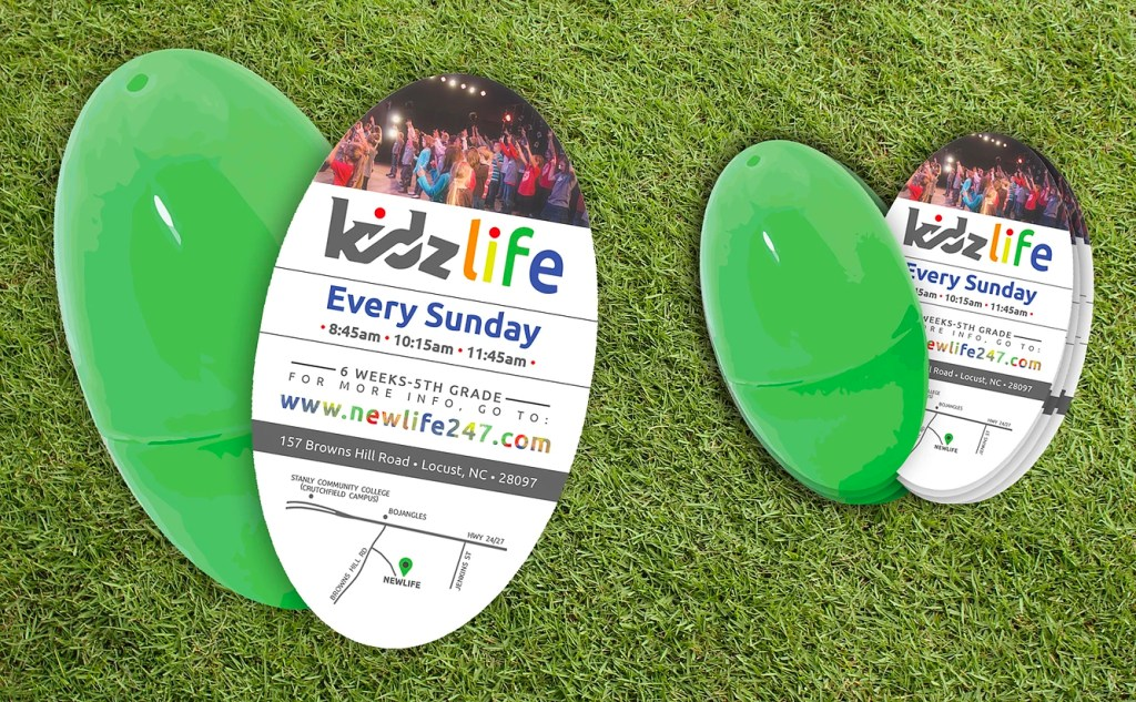 Children's Ministry Easter Invites
