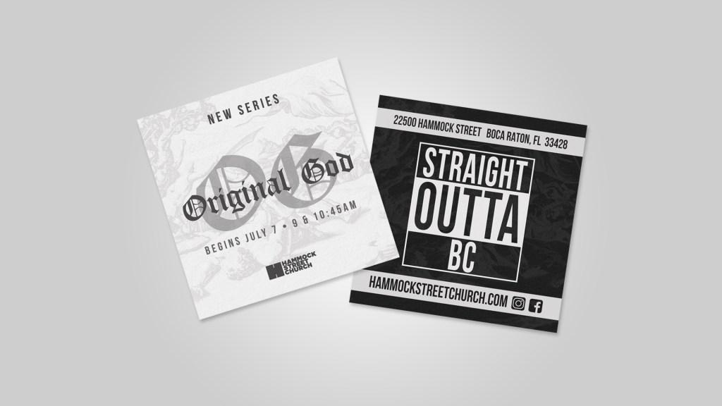 OG (Original God) Sermon Series