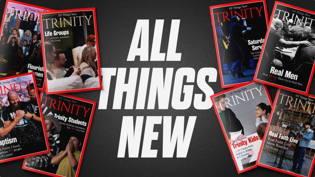 All Things New - Magazine Scatter Title