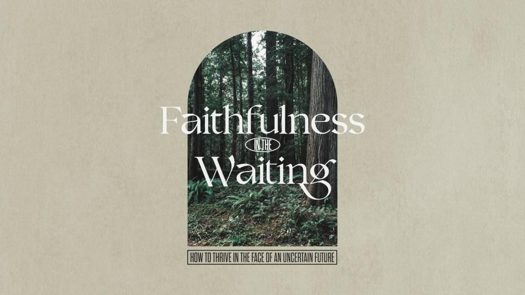 Faithfulness In The Waiting - Main Screen