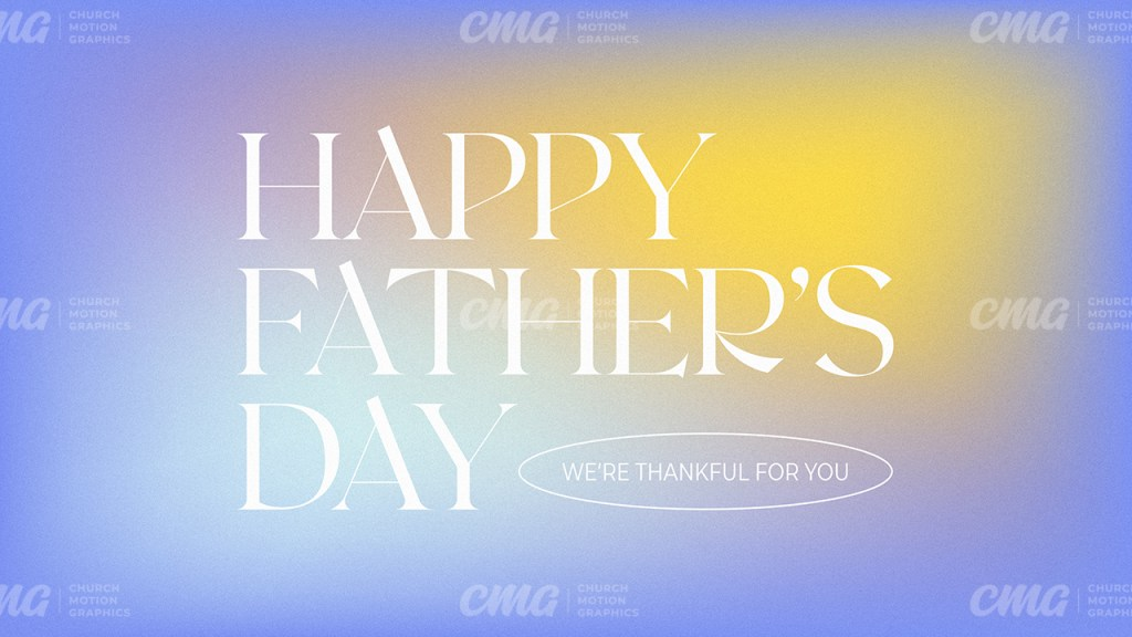 Happy Father's Day Gradient Serif Modern-Subtitle