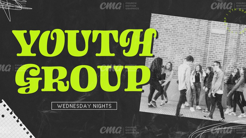 Youth Group Neon Black Scribble-Subtitle