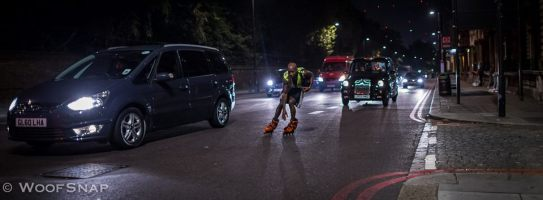 Street skating!