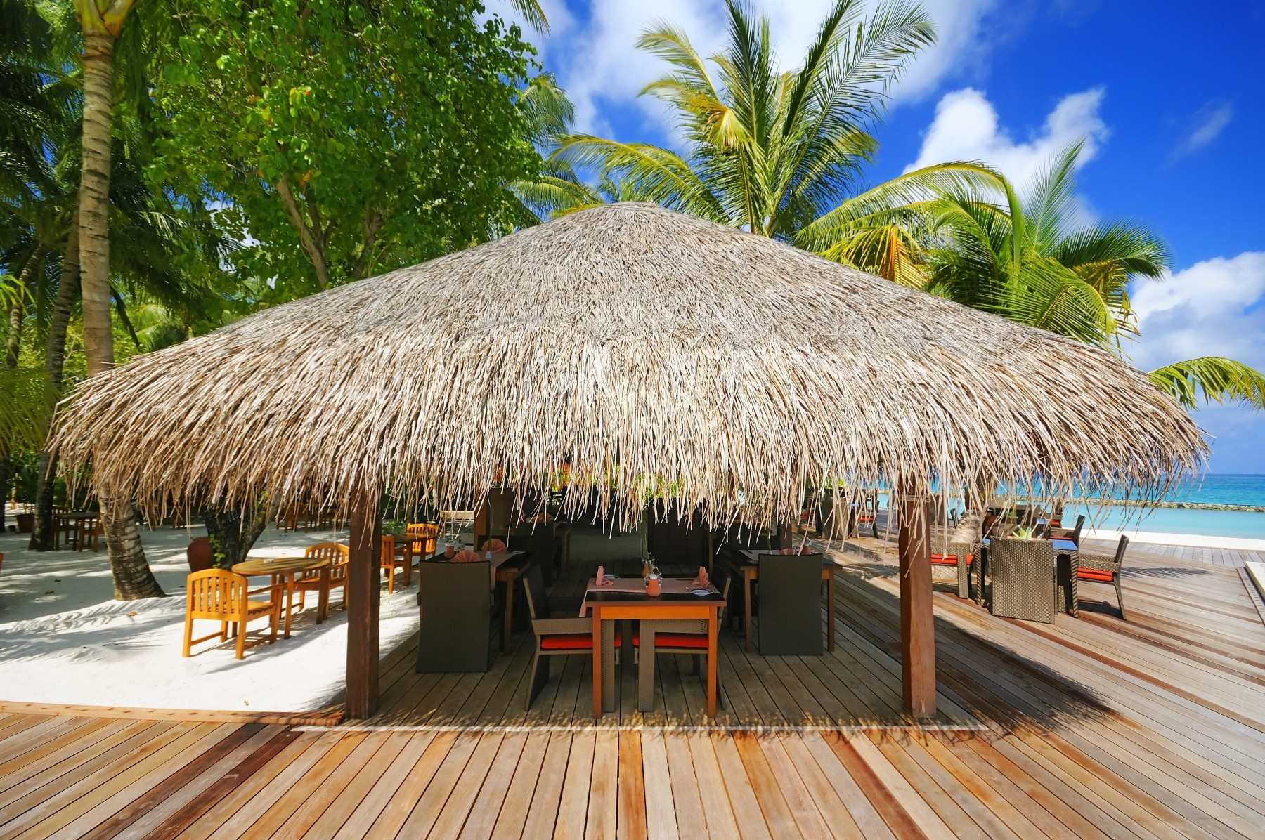 Why You Need A UV Protected Roof   Endureed Synthetic Thatch