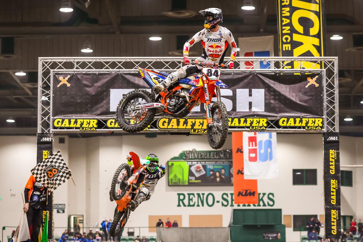 Trystan Hart Takes Reno EnduroCross Win