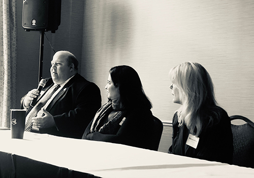 State Senator Paul Feeney (and Massachusetts Healthy Workplace Bill Lead Sponsor), attorney and advocate Rebecca Dupras (whose story was in The New York Times), and advocate Marycatherin DeFazio (whose story was featured in The Boston Globe) introduce the issue of workplace abuse.