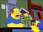 El vendedor de comics (Los Simpson)