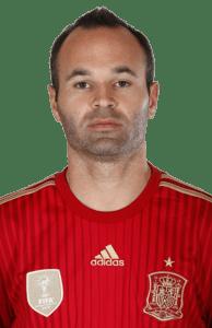 perfil psicológico de Andrés Iniesta