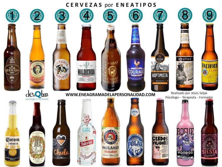 Eneatipos y sus cervezas