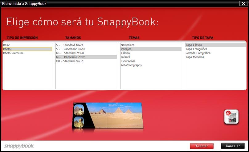 Libros fotográficos SnappyBook (3/6)