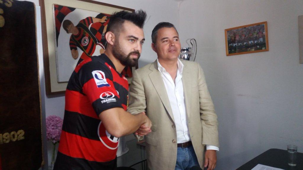 Delantero argentino cubrirá el lugar de Hugo Díaz en Rangers