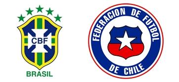 Finalizado: Brasil 0-0 Chile