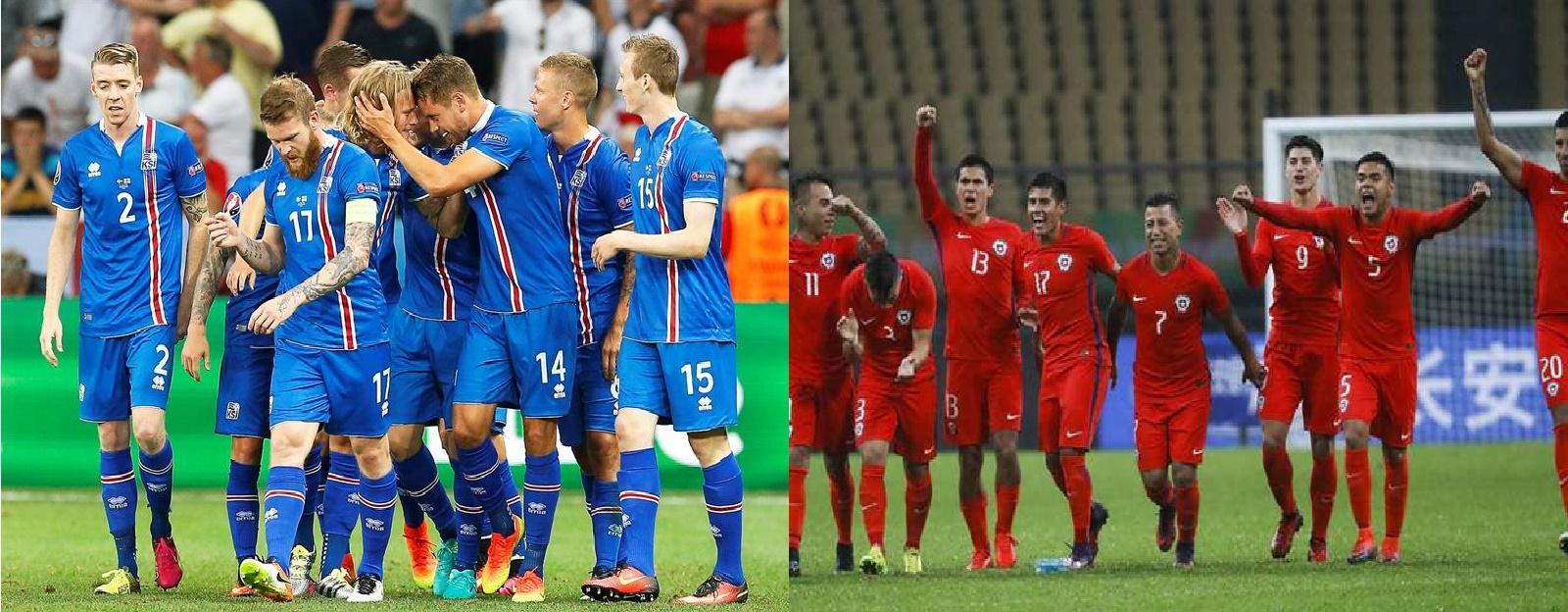 Finalizado: Islandia 0-1 Chile
