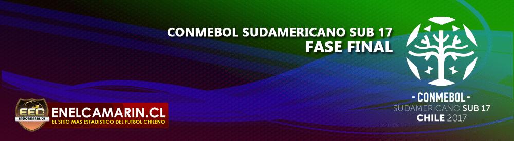 Finalizado: Chile Sub-17 1-0 Colombia Sub-17