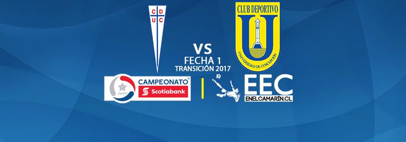 Finalizado: U.Católica 0-0 U.de Concepción
