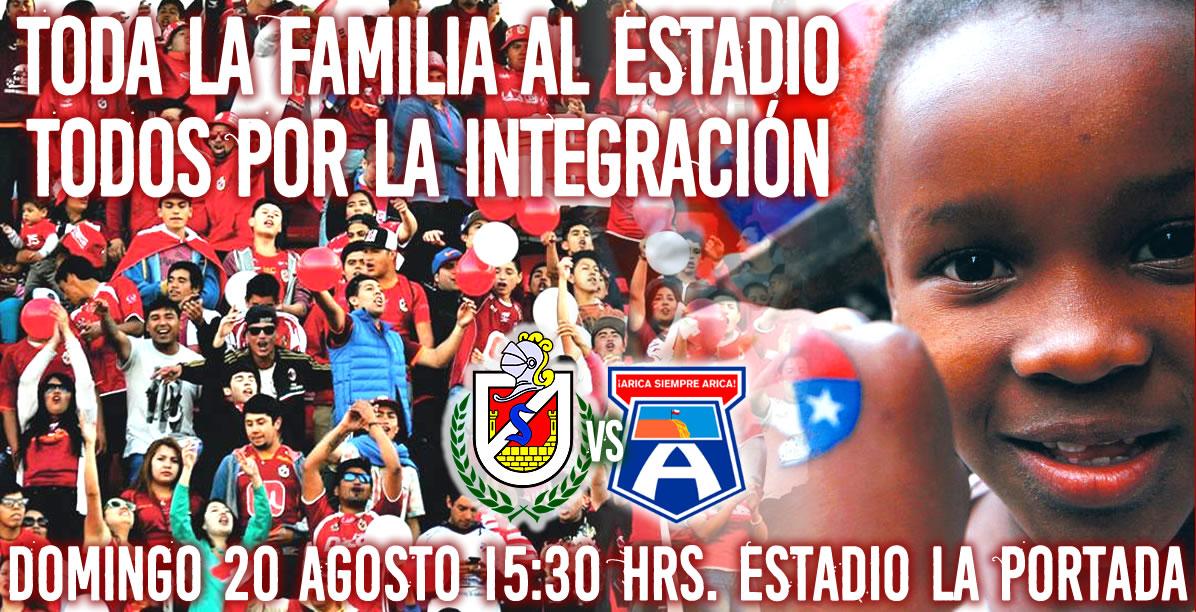 Inmigrantes podrán asistir gratis al Estadio La Portada