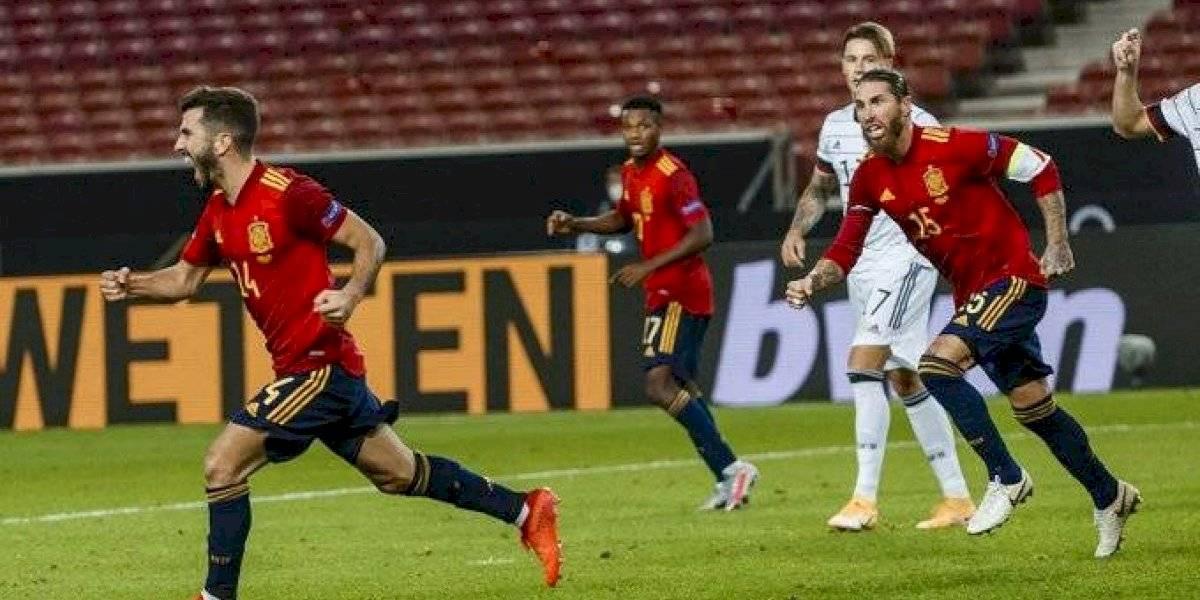 Revisa los resultados de la primera jornada en Nations League